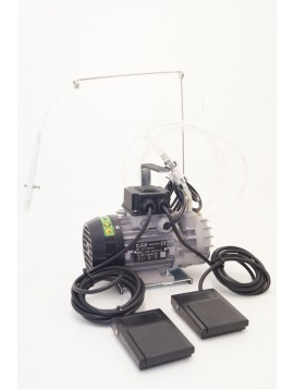 Pompa vacuum due postazioni