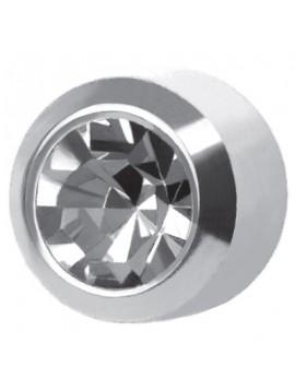 Orecchini brillantini in acciaio mini