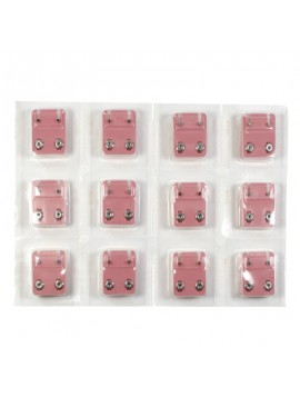 Orecchini brillantini in acciaio 12 colori assortiti mini