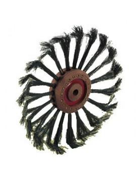 Spazzola circolare acciaio